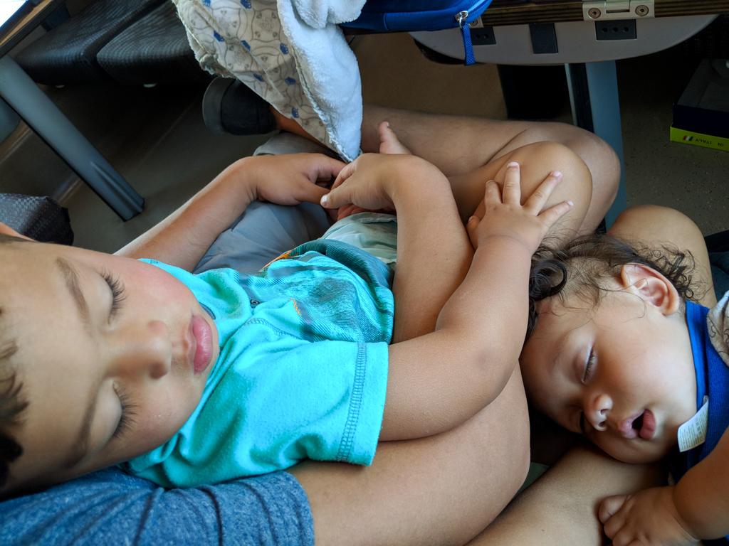 Baby travel gear for sleep