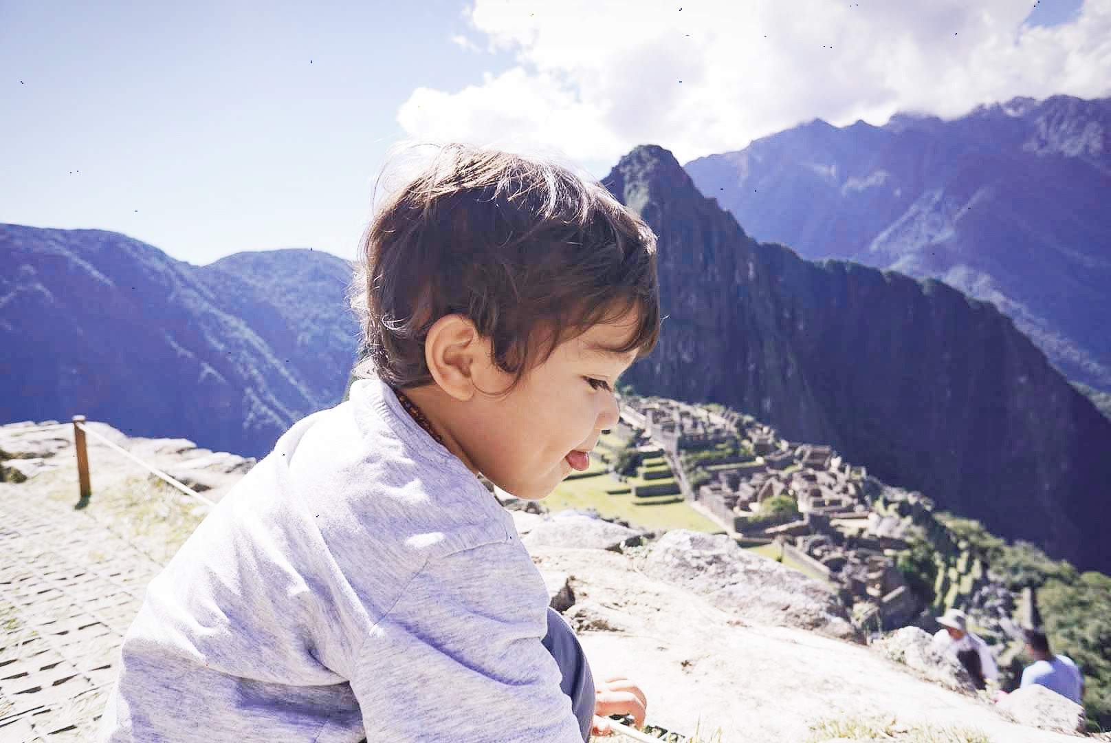 Bringing a baby and toddler to Machu Picchu