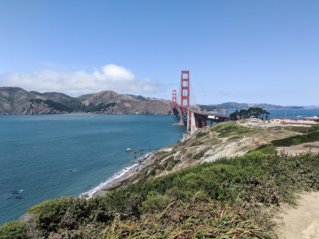 Places in San Francisco not to miss for the best Golden Gate Bridge views