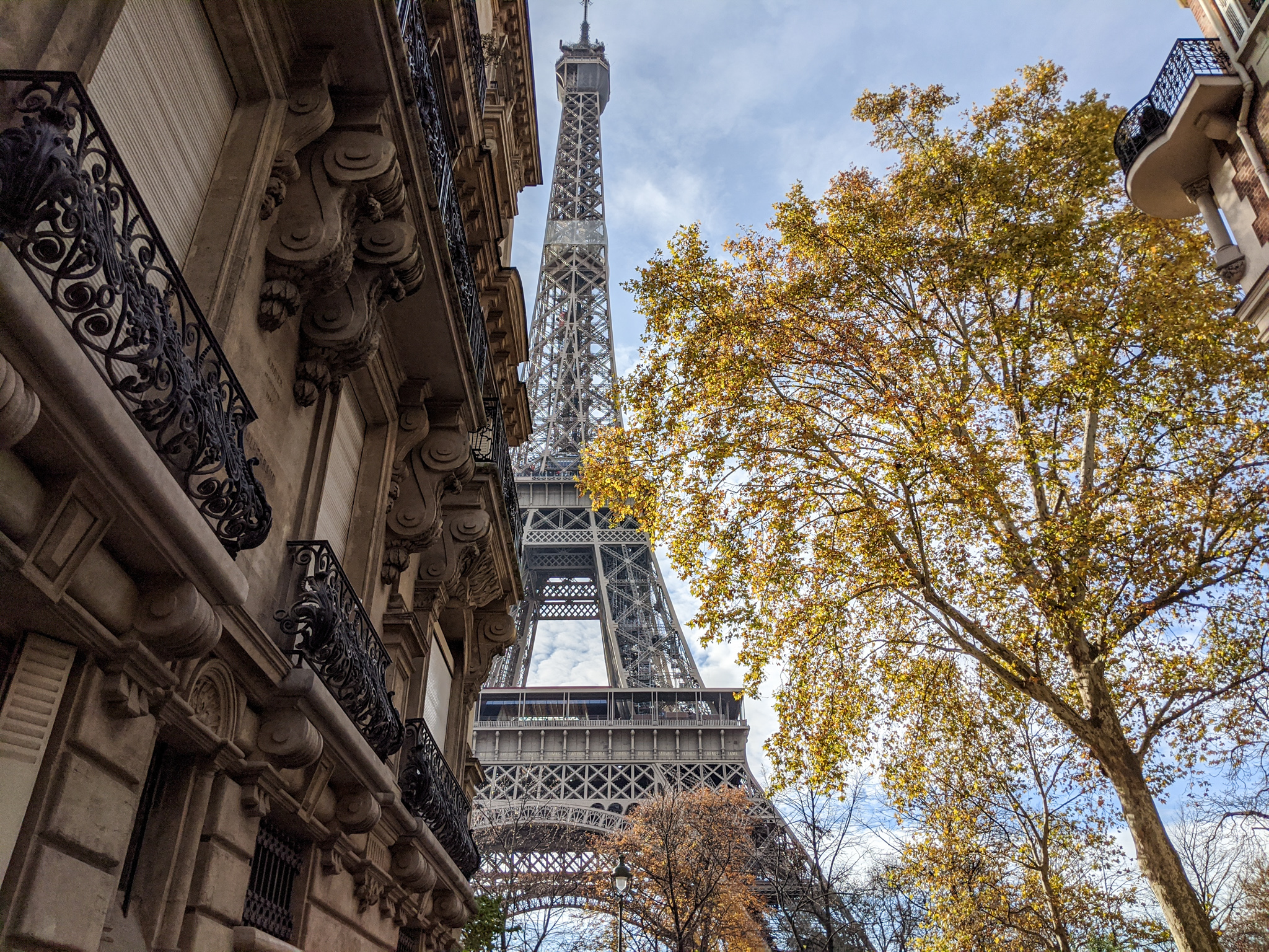 Places in Paris not to miss for the best Eiffel Tower views