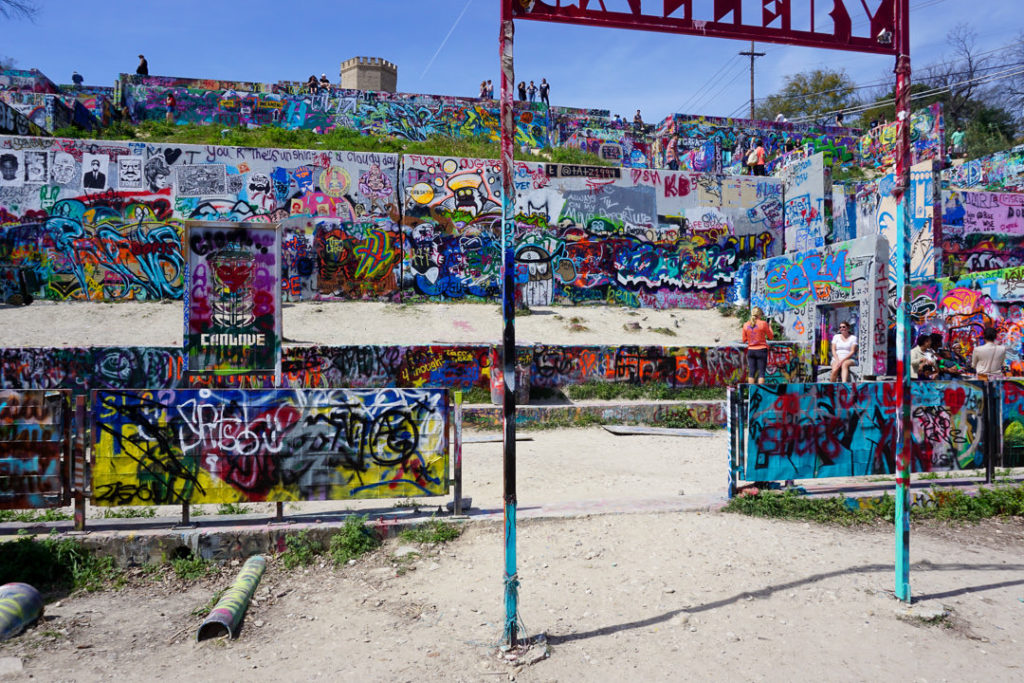 Hope Outdoor Gallery in Austin, TX family-friendly itinerary ideas