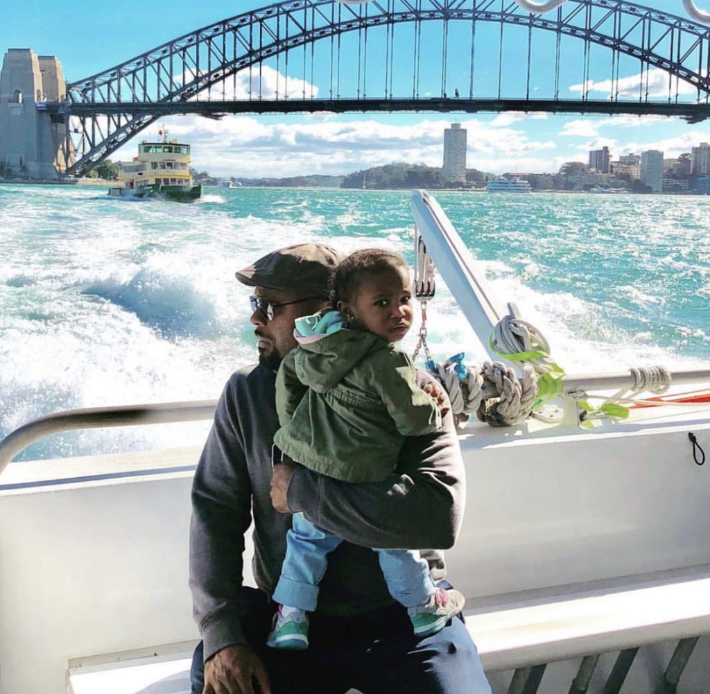 Black dad traveling with son in Sydney, Australia - diversity in family travel